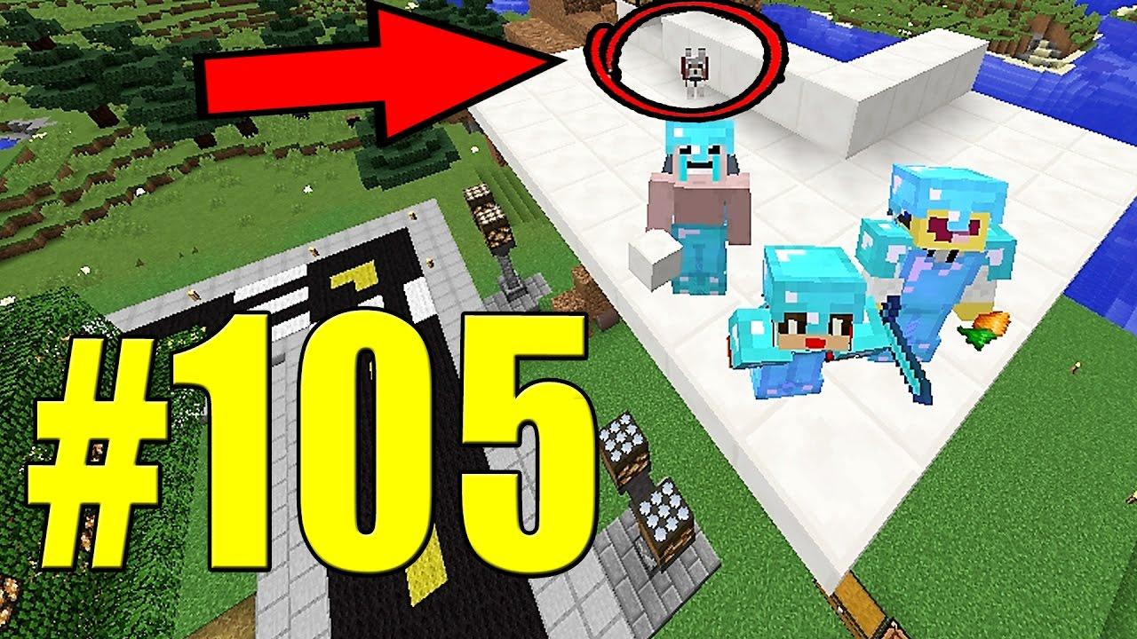 Minecraft equipe survival 105 o cachorro fantasma no for Minecraft moderno