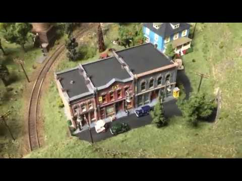 N Scale 2X4 Layout