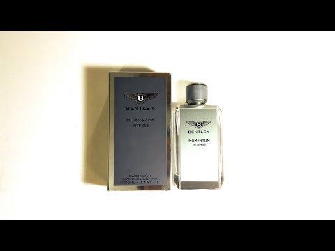 Bentley Momentum Intense fragrance Review (2017)