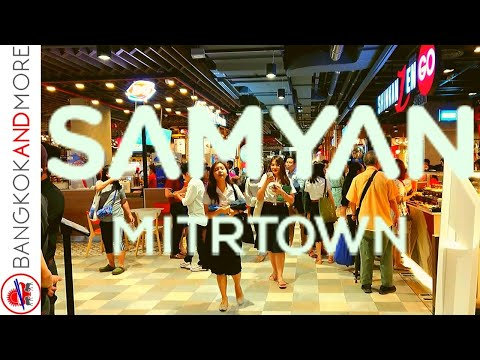 The New SAMYAN MITRTOWN Opened - Food And Shopping At The Ground Floor