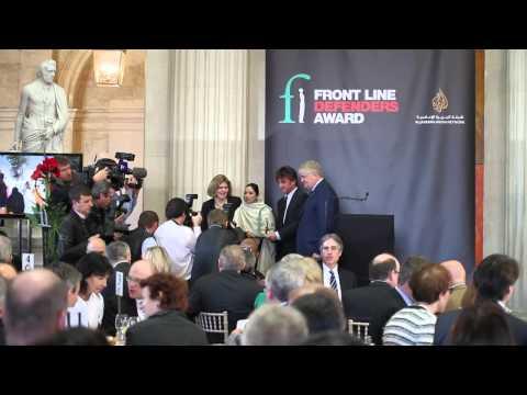 2014 Front Line Defenders Award Highlights