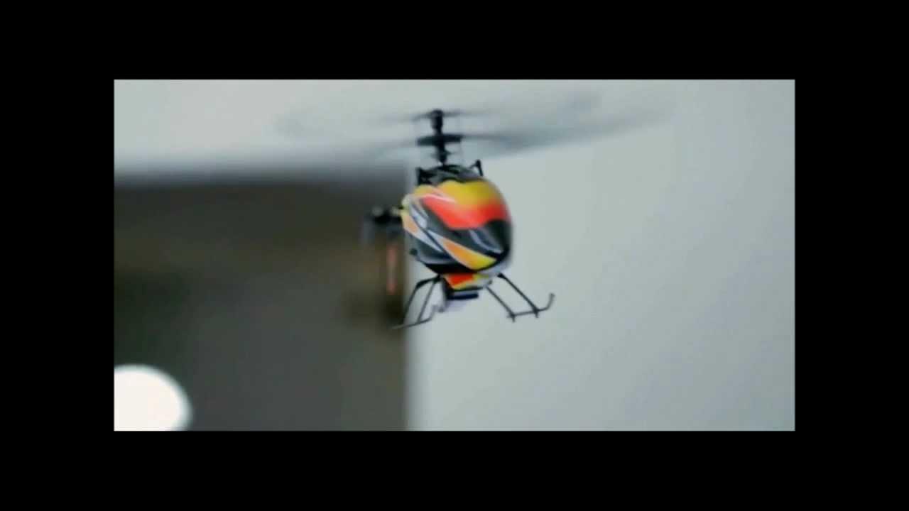 Радиоуправляемый вертолет на ДВС (Nitro Helicopter Toy & Hobby .