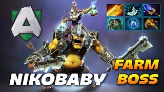 Nikobaby Alchemist - UNKILLABLE FARM MACHINE - Dota 2 Pro Gameplay