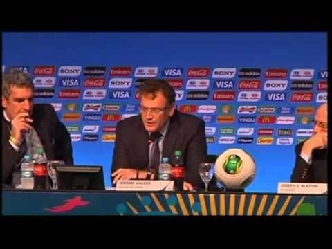 Fans Upset About World Cup Draw, FIFA Explains Reason
