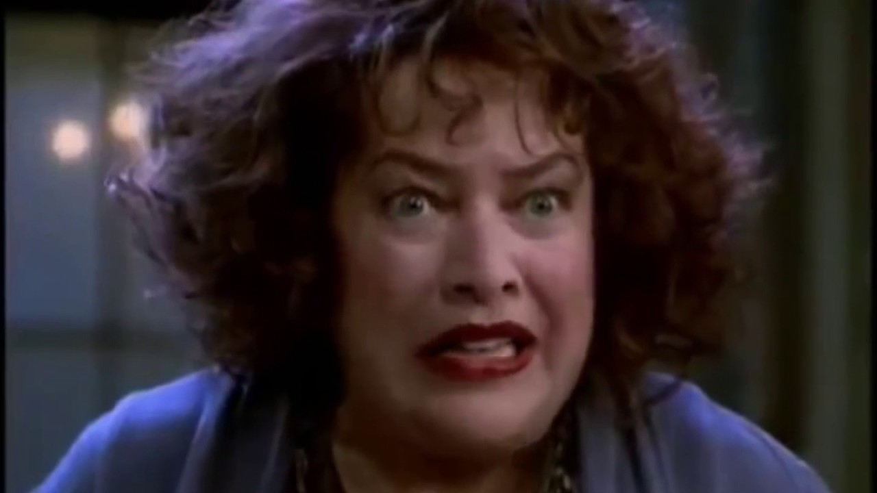 Kathy Bates In Annie 1999 Scenes Part 1 - YouTube