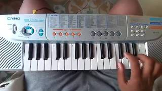 Dulhe ka sehra from dhadkan on piano casio