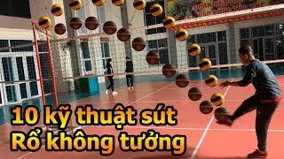 Thử Thách Bóng Đá mùa Asian Cup 2019 Đỗ Kim Phúc và TOP 10 kỹ thuật sút rổ đỉnh cao - DKP Việt Nam