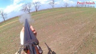 Стрельба с моего старенького куркового ружья Тоз-бм в его юбилей 60-лет!