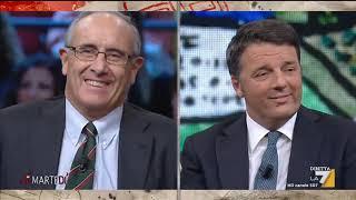 I giornalisti Massimo Franco e Massimo Giannini si confrontano con l'ex premier Matteo Renzi