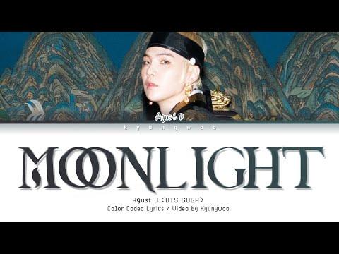 AGUST D - Moonlight (Color Coded Lyrics)