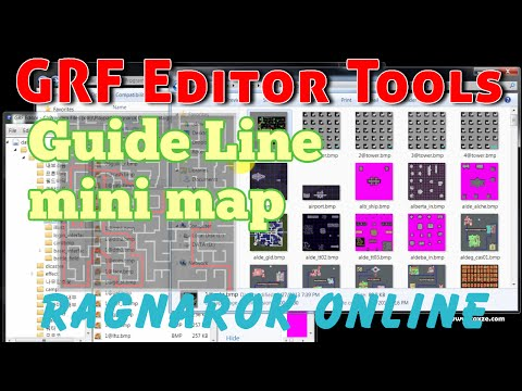 mod: สอนวิธีทำเส้นทางเดินใน mini Map แก้ไข data.grf เกม RO