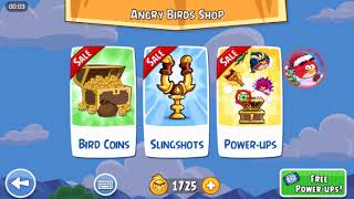 Angry Birds Friends- Santacoal e Candyclaus-Parte 3! ( Especial de natal ) Nível 1!