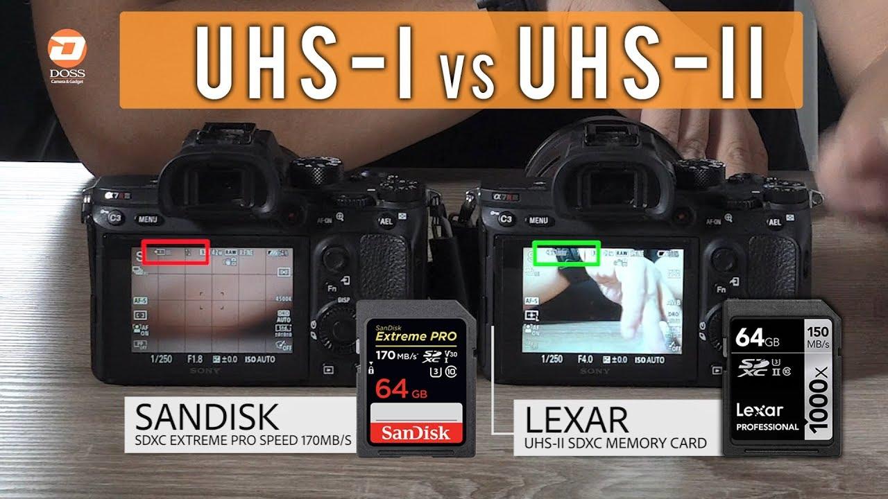 DOSS- Review - Perbedaan Memory UHS-I dan UHS-II - YouTube