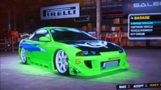 Midnight Club Los Angeles  | The Fast And The Furious Cars