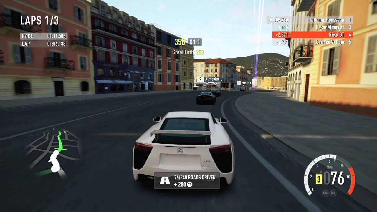 forza horizon 2 xbox 360 gameplay 4 lexus lfa youtube. Black Bedroom Furniture Sets. Home Design Ideas