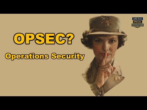 What Is OPSEC?  - Operations Security