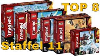 TOP 8 LEGO Ninjago Sets zur Staffel 11 - Verbotenes Spinjitzu