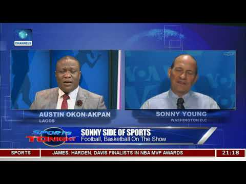 Discussing Basketball, Football With Sonny Young | Sports Tonight |