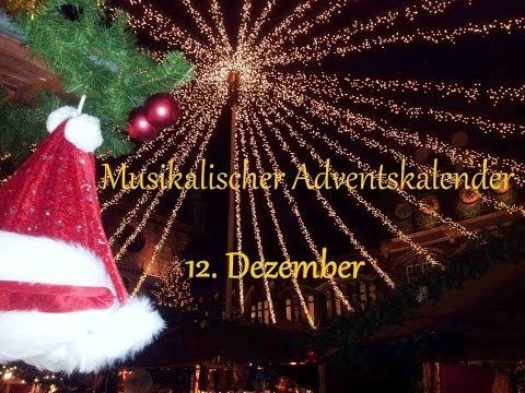 """12. Dezember """"Vier Takte vor Weihnachten"""
