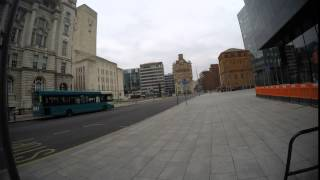 Liverpool Gopro Time-lapse, Walk From Liver Building To Albert Dock