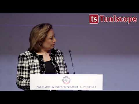Allocution de Mme Amel Bouchamaoui  Investment & Entrepreneurship Conference