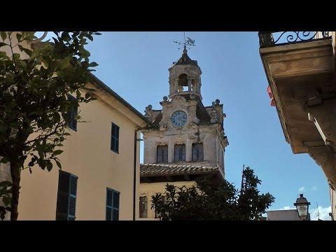 Spain Balearic Island Mallorca - historic old town Alcudia