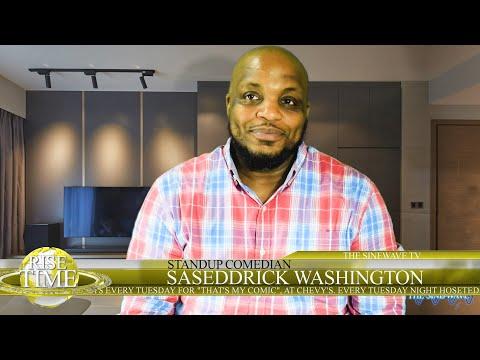 Interview with the hilarious Standup Comedian Saseddrick Washington