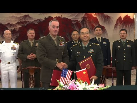 US and China Agree on Improved Communication