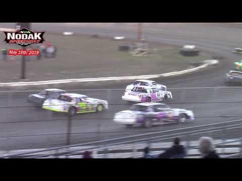 Nodak Speedway IMCA Stock Car A-Main (5/19/19)