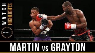 Martin vs Grayson HIGHLIGHTS: August 23, 2016 - PBC on FS1
