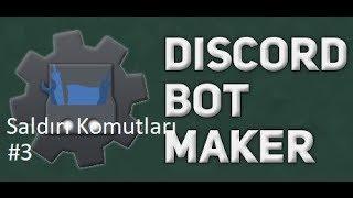 Basit Tüm Rolleri Sil Komutu | Discord Bot Maker Basit Saldırı Komutları #3