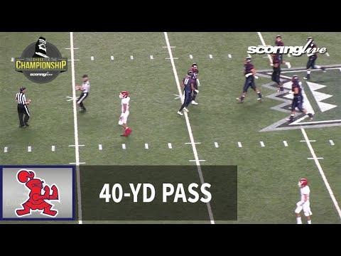 Kahuku vs. Saint Louis: J. Panoke, 40-yd pass from C. Cordeiro - HHSAA D1-Open Championship (2017)