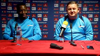 Press Conference: Gary and Dicko Talk Oldham FA Cup Clash