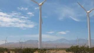 Windmill Wind Farms in North Palm Springs / Desert Hot Springs, San Bernardino County, California