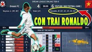 Thử Ra mắt Cristiano Ronaldo JR và cái kết Dream League Soccer 2019
