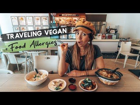 TRAVELING VEGAN & with FOOD ALLERGIES