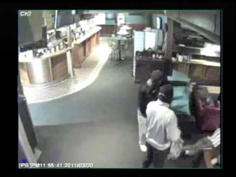 CCTV - Armed robbery, Sunnybank
