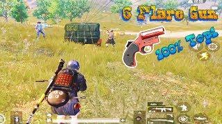 [PUBG Mobile] Nhặt Được 6 Flare Gun (Súng Gọi Thính) 100% Top 1