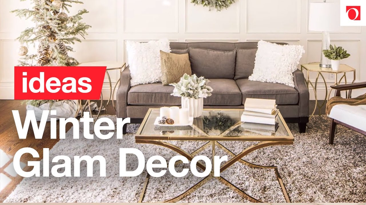 3 easy steps to winter glam christmas decor overstockcom - Overstock Christmas Decorations