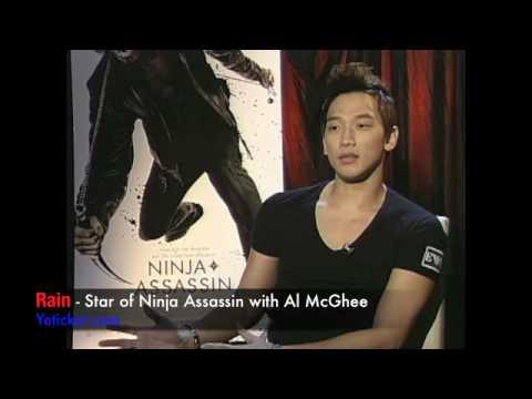 Rain star of Ninja Assasin-Interview