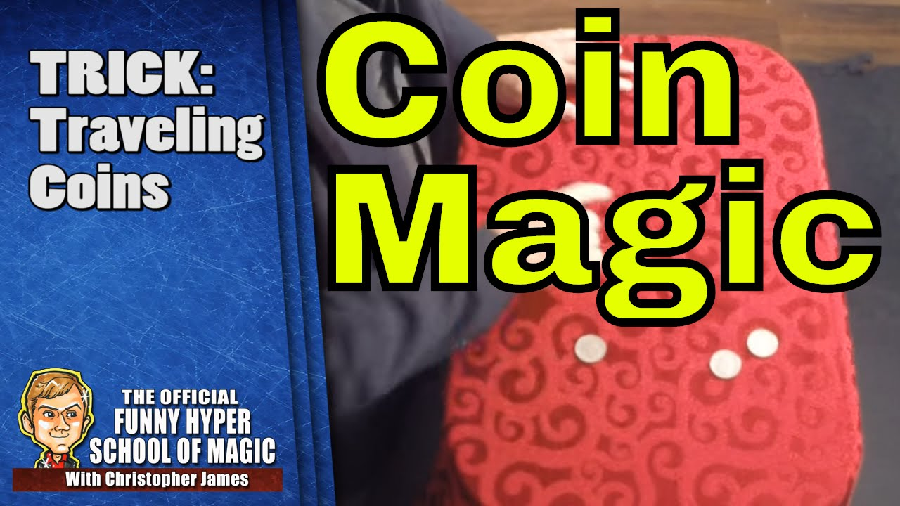 how to make magic tricks with coins