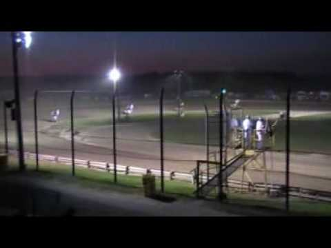 WHIP CITY SPEEDWAY : 750cc Feature 8/15/09