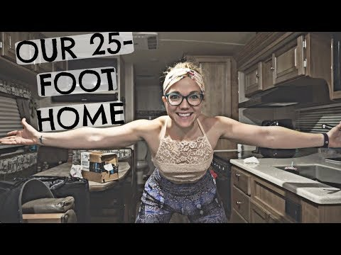 TINY HOME TOUR - FULL TIME RV LIVING 👫