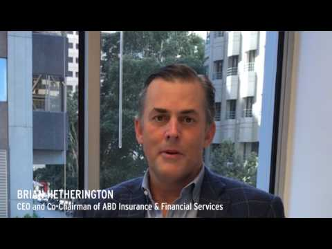 Brian Hetherington CEO Co Chairman Of ABD Insurance And Financial Services Talks Economy