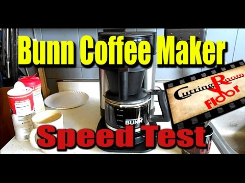 Coffee Maker Just Stopped Working : Bunn Coffee Maker Speed Test Cutting Room Floor #4 - YouTube