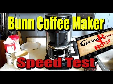 My Bunn Coffee Maker Not Working : Bunn Coffee Maker Speed Test Cutting Room Floor #4 - YouTube