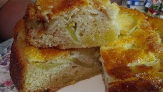 Очень сочный яблочный пирог