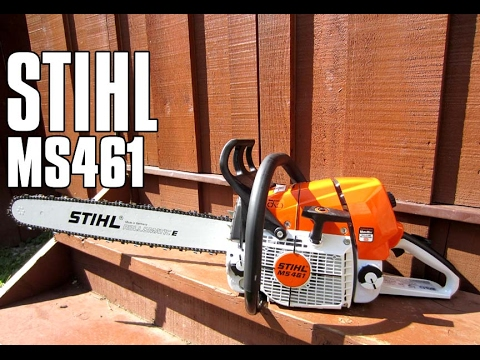 5cc75808108 STIHL MS461 Chainsaw Review - YouTube