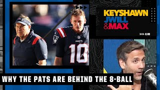 The Patriots are behind the 8-ball this season - Max says New England needed to beat the Saints |KJM