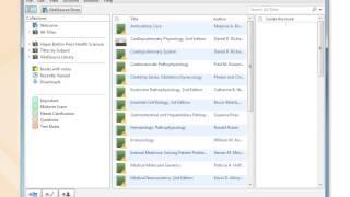 Bookshelf PC/Mac - Navigate title (centre) pane